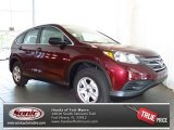 2013 Basque Red Pearl II Honda CR-V LX #81075647