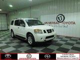 2012 Blizzard White Nissan Armada SV #81075741