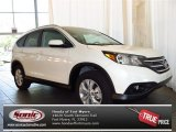 2013 White Diamond Pearl Honda CR-V EX-L #81075646