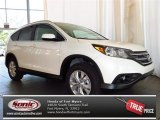 2013 White Diamond Pearl Honda CR-V EX-L #81075644