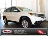 2013 White Diamond Pearl Honda CR-V EX-L #81075643