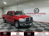 2007 Flame Red Dodge Ram 1500 ST Quad Cab #81075738