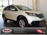 2013 White Diamond Pearl Honda CR-V EX-L #81075641