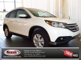 2013 White Diamond Pearl Honda CR-V EX-L #81075640