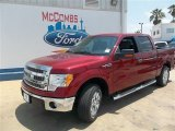 2013 Ruby Red Metallic Ford F150 XLT SuperCrew #81075729