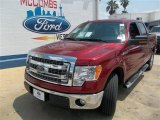 2013 Ruby Red Metallic Ford F150 XLT SuperCrew #81075721