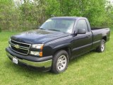 2006 Dark Blue Metallic Chevrolet Silverado 1500 Regular Cab #81076292
