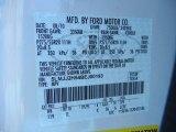 2011 Navigator Color Code for White Platinum Tri-Coat - Color Code: UG