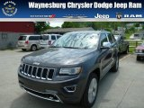 2014 Granite Crystal Metallic Jeep Grand Cherokee Overland 4x4 #81075902