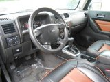 2009 Hummer H3  Ebony/Morocco Brown Interior