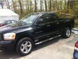 2006 Black Dodge Ram 1500 Sport Quad Cab 4x4 #81076281