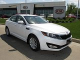 2013 Snow White Pearl Kia Optima LX #81076190