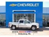 2013 Silver Ice Metallic Chevrolet Silverado 1500 LT Crew Cab 4x4 #81076099
