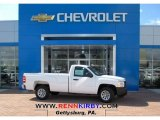 2013 Summit White Chevrolet Silverado 1500 Work Truck Regular Cab #81076098