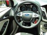 2012 Ford Focus SEL Sedan Steering Wheel