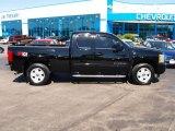 2011 Black Chevrolet Silverado 1500 LTZ Extended Cab 4x4 #81075672