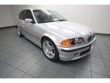 2001 Titanium Silver Metallic BMW 3 Series 330i Sedan #81076083