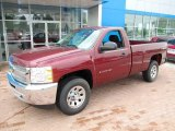 2013 Chevrolet Silverado 1500 Work Truck Regular Cab 4x4 Front 3/4 View