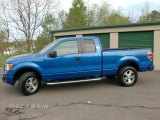 2010 Blue Flame Metallic Ford F150 STX SuperCab 4x4 #81127627