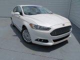 2013 White Platinum Metallic Tri-coat Ford Fusion Energi Titanium #81127798