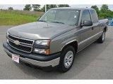 2006 Graystone Metallic Chevrolet Silverado 1500 LS Extended Cab #81127963