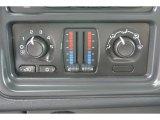 2006 Chevrolet Silverado 1500 LS Extended Cab Controls