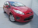 2013 Ruby Red Ford Fiesta SE Hatchback #81127797