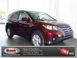 2013 Basque Red Pearl II Honda CR-V EX-L #81127539