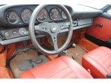 1974 Porsche 911 S Coupe Copper Red Interior
