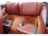 1974 Porsche 911 S Coupe Rear Seat