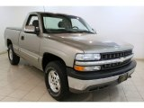 2000 Light Pewter Metallic Chevrolet Silverado 1500 LS Regular Cab 4x4 #81127948