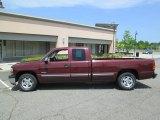 2002 Dark Carmine Red Metallic Chevrolet Silverado 1500 LS Extended Cab #81128033