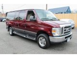2008 Ford E Series Van Dark Toreador Red Metallic