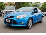 2012 Blue Candy Metallic Ford Focus SE Sport 5-Door #81128022