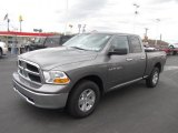 2012 Mineral Gray Metallic Dodge Ram 1500 SLT Quad Cab 4x4 #81127907