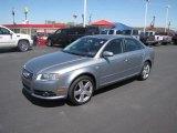 2008 Quartz Grey Metallic Audi A4 3.2 Quattro S-Line Sedan #81127904