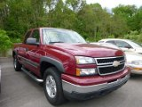 2007 Sport Red Metallic Chevrolet Silverado 1500 Classic Z71 Extended Cab 4x4 #81127740
