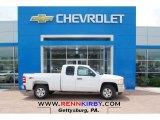 2013 Summit White Chevrolet Silverado 1500 LT Extended Cab 4x4 #81127889