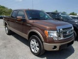 2012 Golden Bronze Metallic Ford F150 Lariat SuperCrew 4x4 #81170711