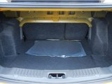 2013 Ford Fiesta Titanium Sedan Trunk