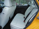 2013 Ford Fiesta Titanium Sedan Rear Seat