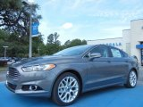 2013 Sterling Gray Metallic Ford Fusion Titanium #81170816
