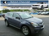 2013 Atlantis Blue Metallic Chevrolet Equinox LS #81171360