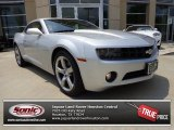 2010 Silver Ice Metallic Chevrolet Camaro LT/RS Coupe #81171244