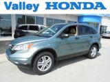 2011 Opal Sage Metallic Honda CR-V EX 4WD #81170683