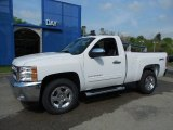 2013 Summit White Chevrolet Silverado 1500 LT Regular Cab 4x4 #81170789