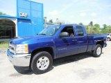 2013 Blue Topaz Metallic Chevrolet Silverado 1500 LT Extended Cab 4x4 #81170787