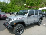 2013 Billet Silver Metallic Jeep Wrangler Unlimited Rubicon 4x4 #81171119