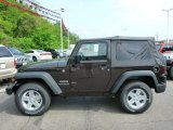 2013 Jeep Wrangler Rugged Brown