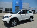 2013 White Diamond Pearl Honda CR-V LX AWD #81171230